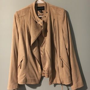 Tan jacket - cute, comfy and in mint condition!